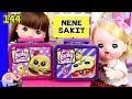 Mainan Boneka Eps 144 Nene Masuk Angin - Buka Surprise Little Lucky LunchBox - GoDuplo TV