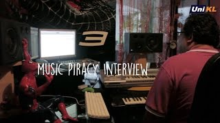 Unikl Miit Pe2 : Interview about Music Piracy