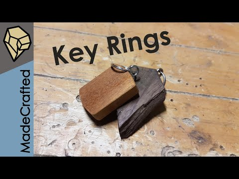 How To Make A Simple Wooden Key Ring