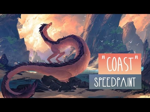 Coast | SPEEDPAINT | Photoshop CC