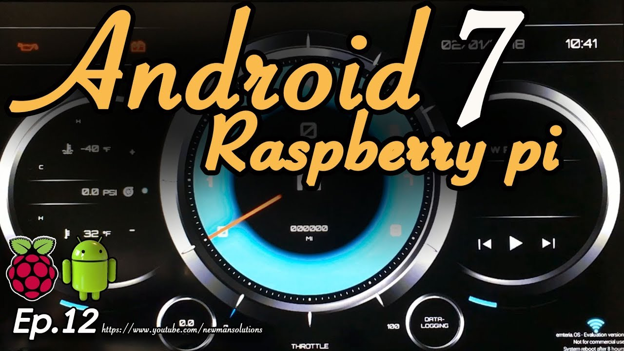 New Android 7 1 2 on Raspberry pi 3 - (EP12) RealDash virtual dashboard on  android raspberry pi