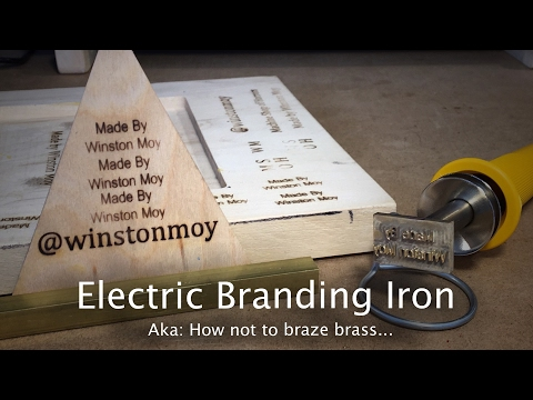 DIY Electric Branding Iron - #82 [CNC]