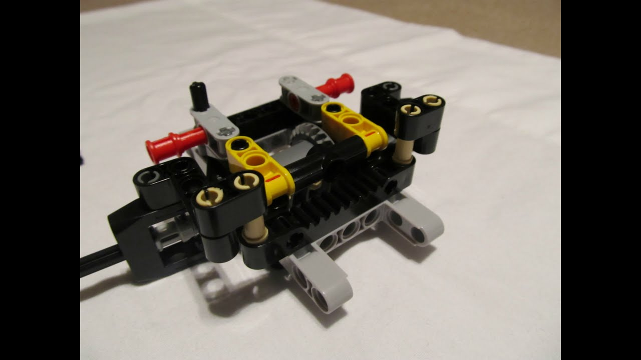 Lego Technic Fwd Steering Instructions Doovi