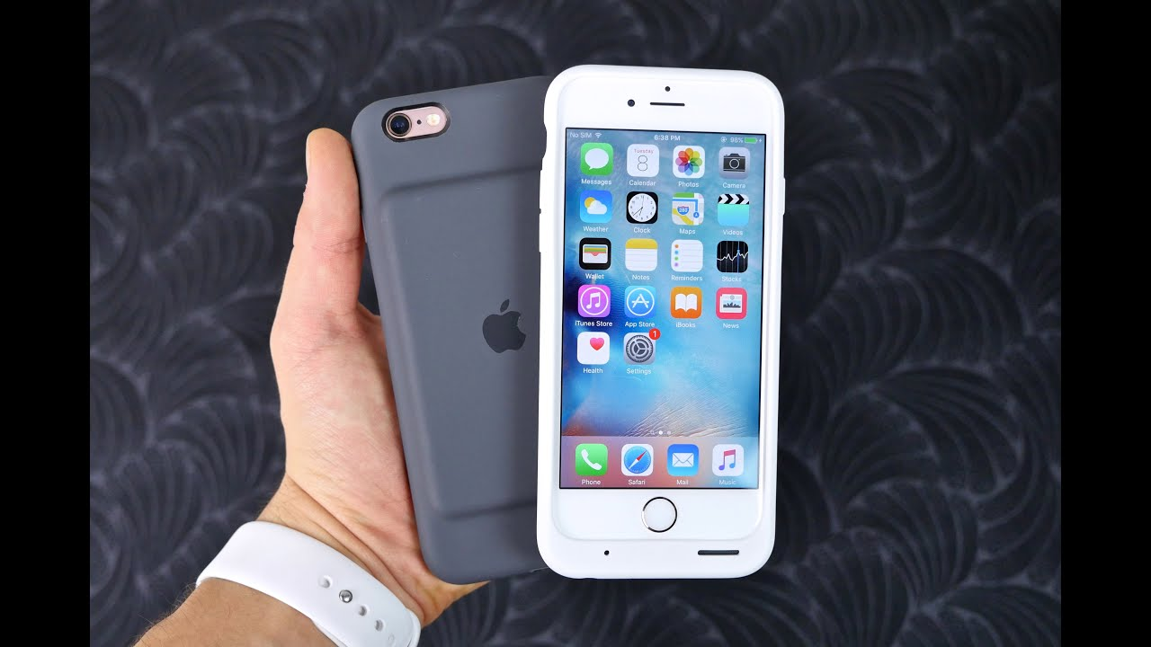 huge discount fdfb6 06c8f Apple Smart Battery Case for iPhone 6S Review & Unboxing