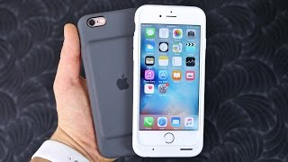 Apple Smart Battery Case for iPhone 6S Review & Unboxing