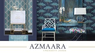 Azmaara Wallpaper Collection from Kenneth James