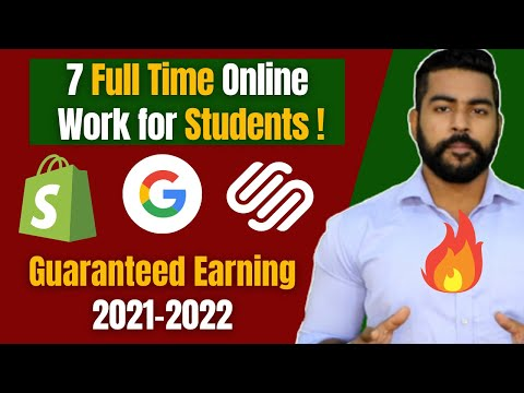 7 Instant Online Work for Students | Earn Money Online 2021 | Praveen Dilliwala