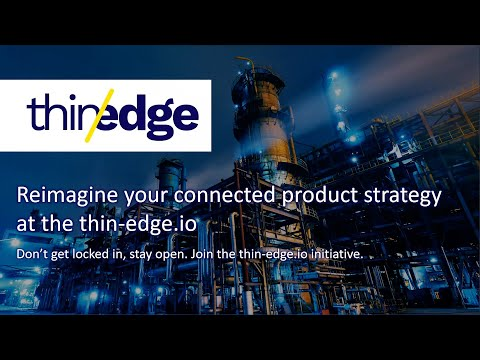 Reimagine your connected product strategy at thin-edge.io | IIoT