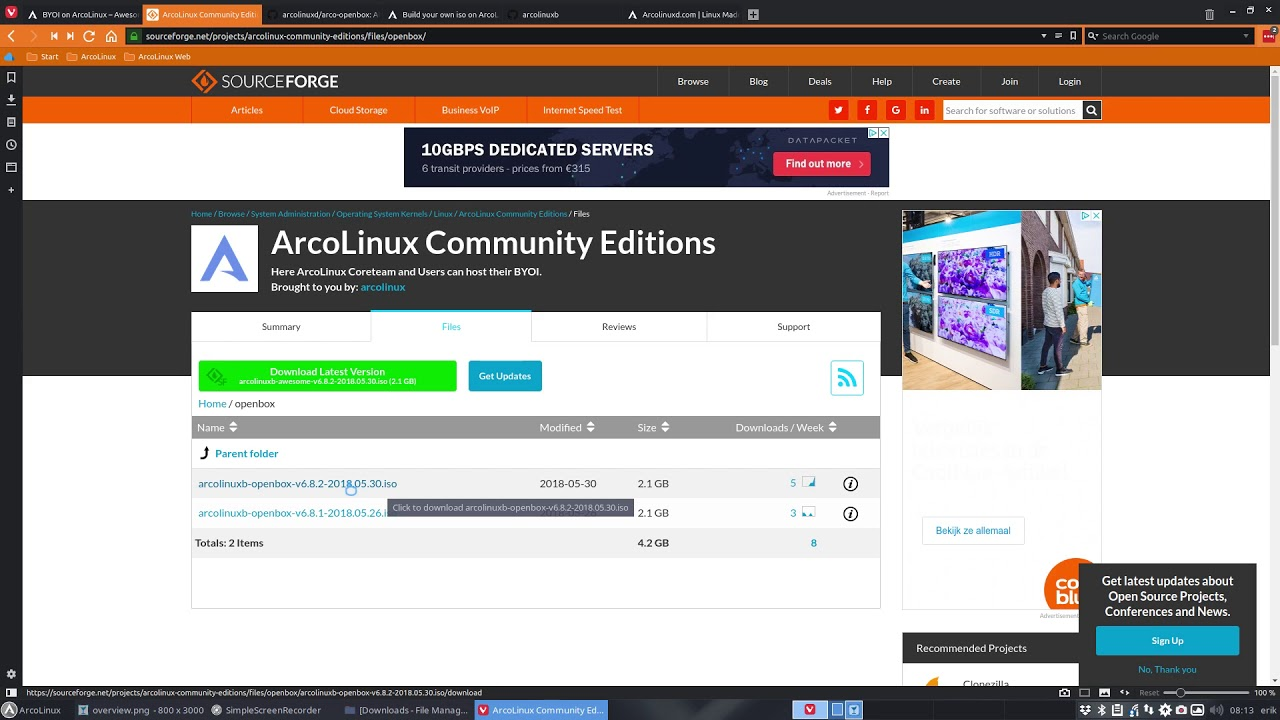 Build your own iso on ArcoLinux – vision | Arcolinuxb com