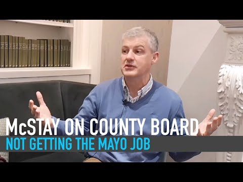 Kevin McStay on Mayo county board | how he missed out on native county job