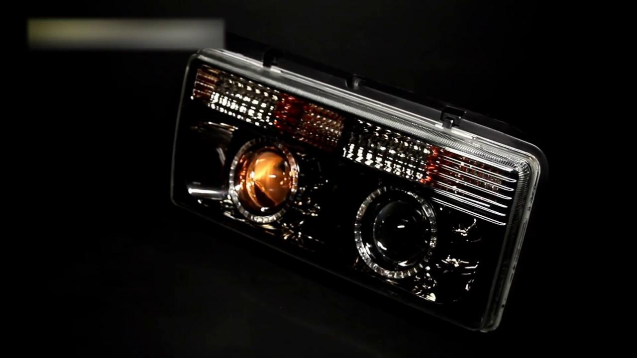 Задние тюнинг фонари ВАЗ 2109, 2114 иксы - YouTube