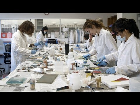 Stanford course teaches students the science of art materials