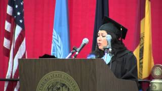 SP 2013 Graduation Ceremony - Regent Janie Perkin's Address