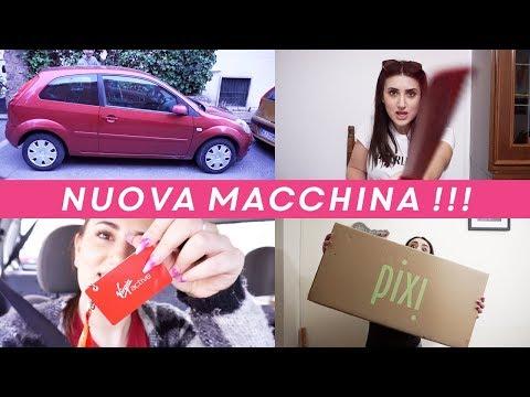 ARRIVATA LA NUOVA MACCHINA 🚗 !!! April Weekly Vlog