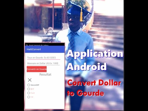 Conversion Dollar US En Gourdes Haitien, Dollar Us To Gourde