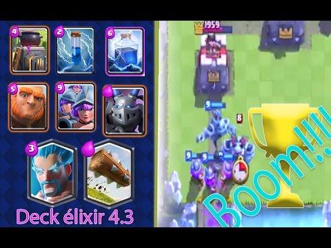 Deck geant sorcier de glace b che super rapide clash for Deck clash royale sorcier de glace