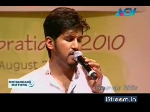 Ilayaraja Nite: Vijay Yesudas sings  'Kalyana thennila...'