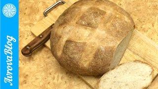 Домашний пшеничный хлеб на закваске