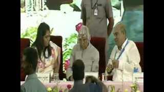 Bharat Ratna Dr.A.P.J.Abdul Kalam at Sathyabama University