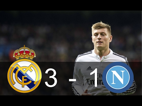 Real Madrid Vs Napoli 3 - 1 HighLights Resumen - UEFA Champions League 2017 -15/02/17