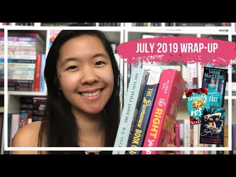Wrap-Up: July 2019 | 12 Romance Books!