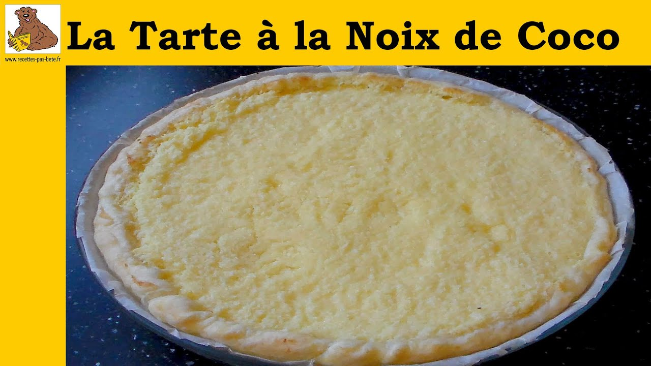 La Cuisine De Reference English Translation La Tarte à La Noix De Coco Recette Facile Youtube