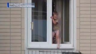В Башкирии с начала лета из окон домов выпали 16 детей