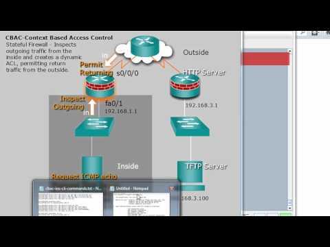 Cisco Stateful Firewall using CBAC - Part 2