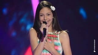 Lenisa Sings A Whole New World | The Voice Kids Australia 2014