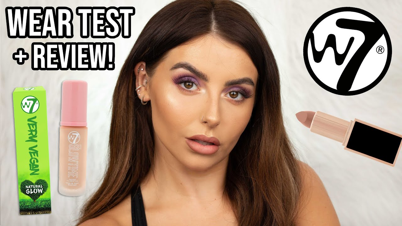 Download Testing *NEW* W7 makeup! Full face of CHEAP makeup! Wear test + review [4K CLOSE UPS]