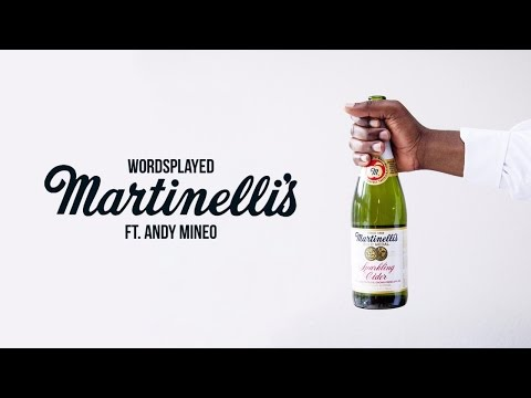 "Wordsplayed - ""Martinelli's"" ft. Andy Mineo"