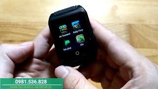 Hướng dẫn sử dụng đồng hồ thông minh kết nối WIFI 3G - X86 Plus