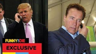 Arnold Schwarzenegger Calls Donald Trump