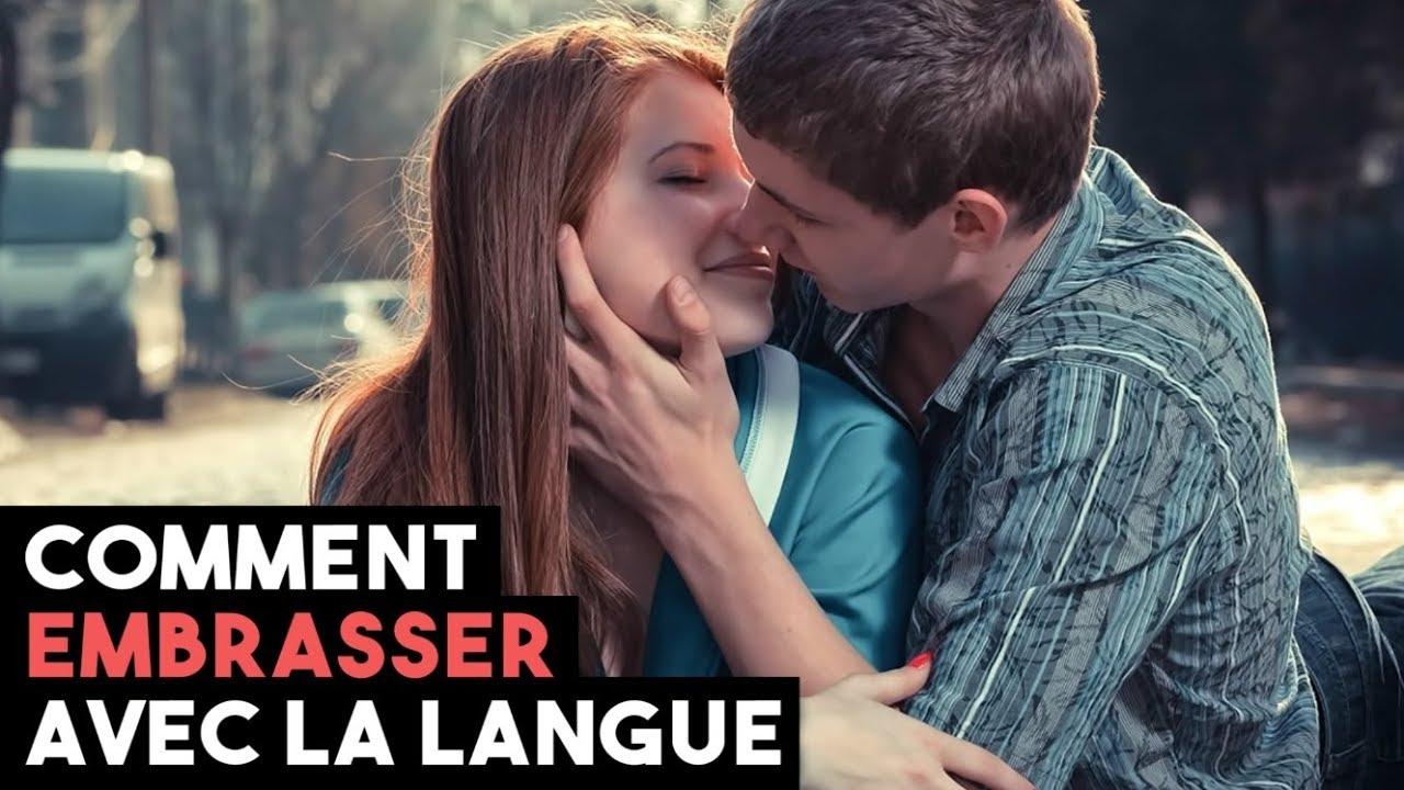 flirter avec la langue)