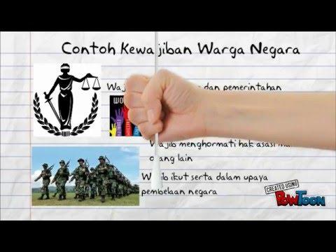 Pengertian Hak Kewajiban Warga Negara Indonesia Youtube
