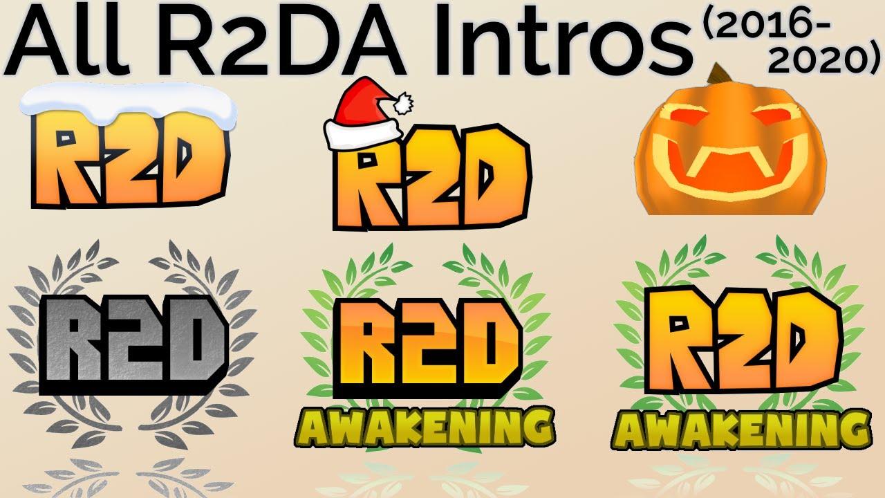 R2da Christmas 2020 All R2DA Intros (2016 2020)   YouTube