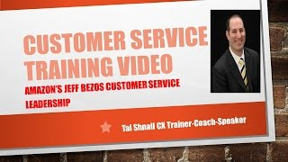 Amazon's Jeff Bezos Customer Service Leadership!