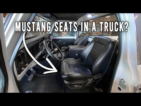 How to Install Mustang Seats in your Ford Truck.