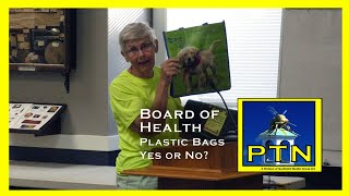 Plastic Bags, Yes or No? Pembroke Board of Health