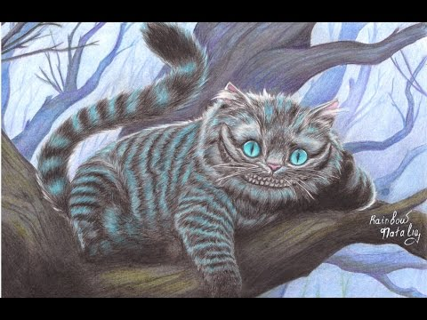 Drawing Cheshire Cat