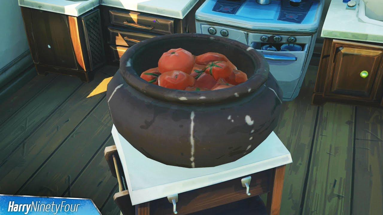 Tomato Basket in Fortnite