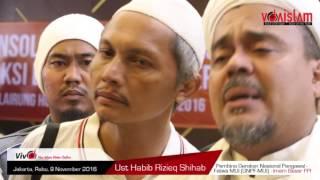 HABIB RIZIEQ Jelaskan Keajaiban Aksi Bela Islam 2, Kuasa Allah Belokkan Arah Tembakan!!