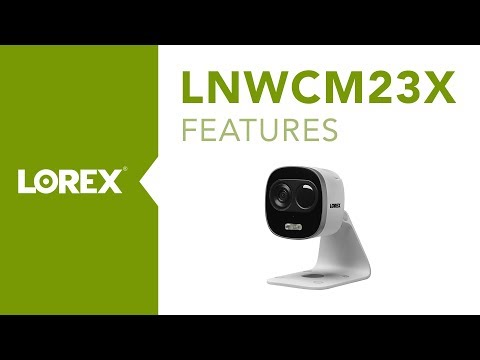 Lorex LNWCM23X 1080P Active Deterrence WiFi Camera