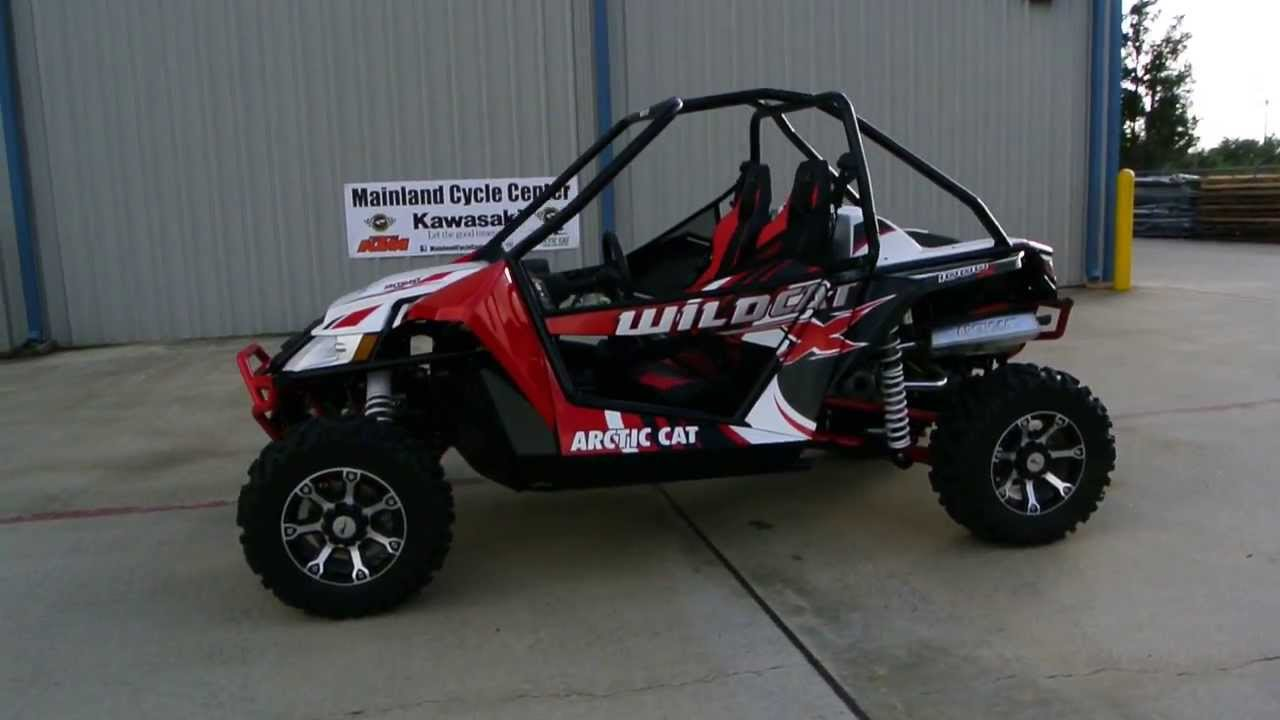 $18,499: 2014 Arctic Cat Wildcat X Vibrant Red: Overview and Review ...