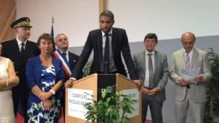 Nicolas Batum inaugure son gymnase à Moyaux