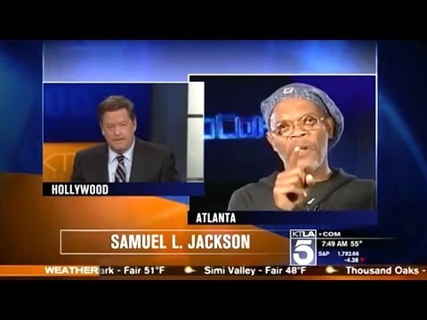 Samuel L. Jackson Rips Reporter Who Thought He Was Laurence Fishburne