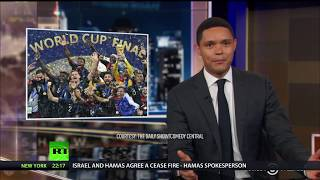 'You deny their Frenchness!' US comedian Trevor Noah slammed for joking that 'Africa won World Cup'