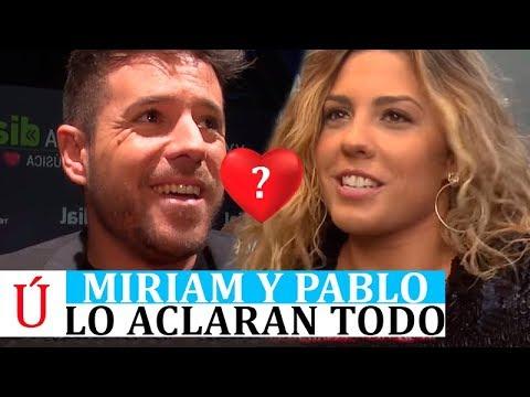 OJO | Miriam y Pablo López confirman su relación y aclaran su situación sentimental tras La Voz 2019