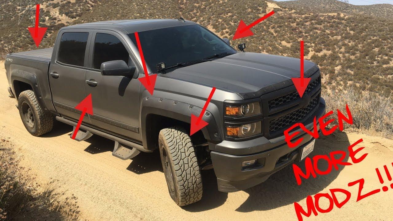The Ultimate 2014 Chevrolet Silverado Aftermarket Parts Youtube