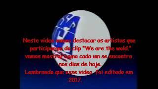 """We are the World - """"Cantores""""... Como estão..."""